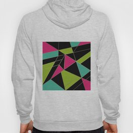 Abstraction , Geometric pattern 2 Hoody