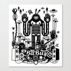 Big Babu Canvas Print