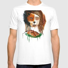 Bambi MEDIUM White Mens Fitted Tee