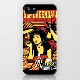 Pulp Greendale iPhone Case