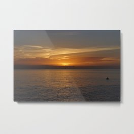 Island sunrise Metal Print