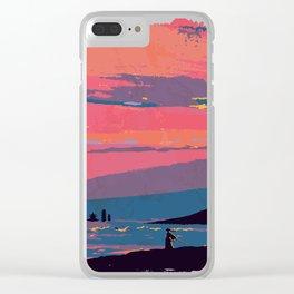 Maibu Samurai Clear iPhone Case