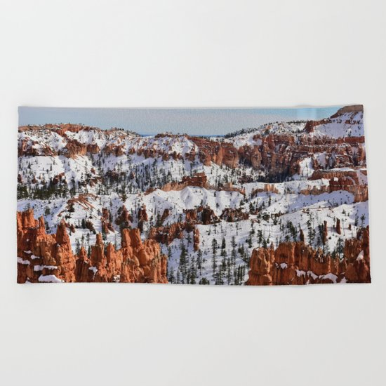 Bryce Canyon - Sunset Point Beach Towel