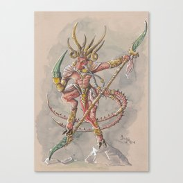 Verminlord Canvas Print