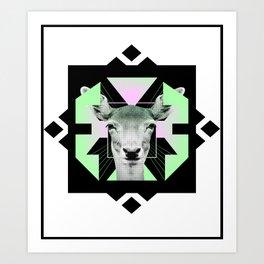 ::Space Deer:: Art Print