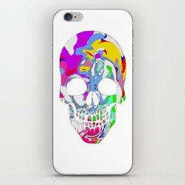 Tye Dye Skull iPhone Skin