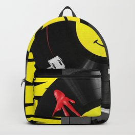 """""""Bloody Turntable"""" Watchmen fan art Backpack"""