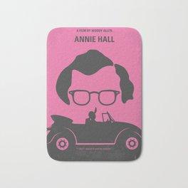 No147 My Annie Hall minimal movie poster Bath Mat