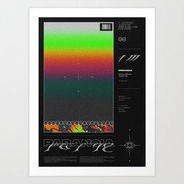 SHADES ⏤ PARANOIA Art Print