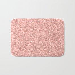 Rose Gold Glitter Bath Mat