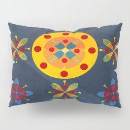 Oskar II: Blue Pillow Sham