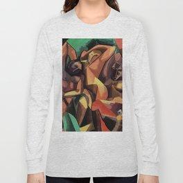 Selfie Cubista Long Sleeve T-shirt