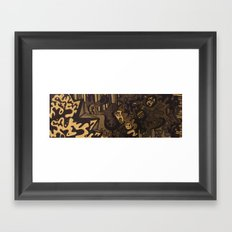 It Runs Deep Framed Art Print