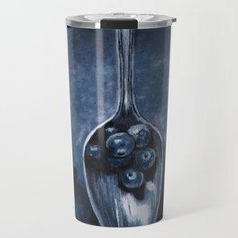 """Original Painting """"Spoonful of Berries"""" Travel Mug"""