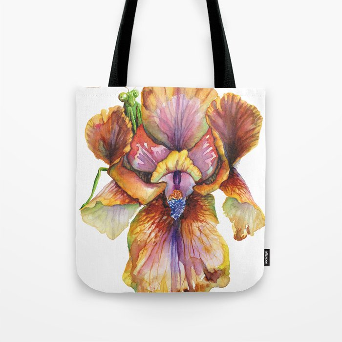 Lord of the Iris Kingdom Tote Bag