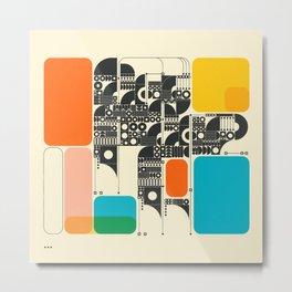 SYSTEMS (17) Metal Print
