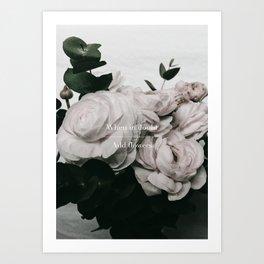 Add Flowers Art Print