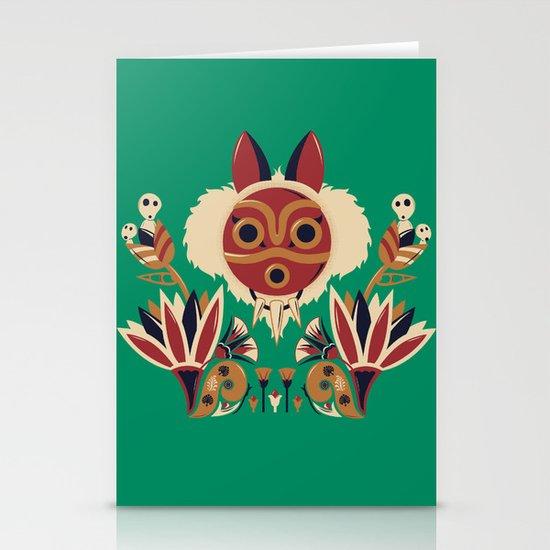 Mono Deco Stationery Cards