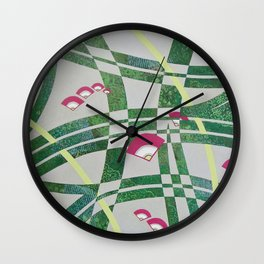 Collective Happiness Wall Clock