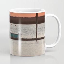 Boat at the End of the Day Coffee Mug