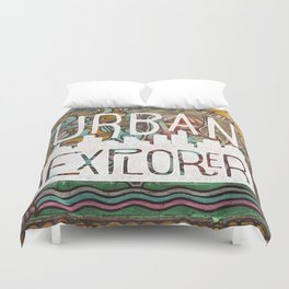 URBAN EXPLORER Duvet Cover