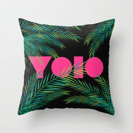YOLO 2.0 Throw Pillow