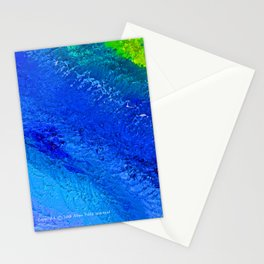 """""""Riptide #4"""" Oil Painting Stationery Cards"""