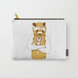 Bear - Panda - You're a Beast Carry-All Pouch