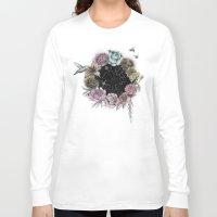 carpe diem Long Sleeve T-shirts featuring Carpe Diem by Biljana Kroll