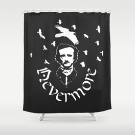 Nevermore ::: Conspiracy Shower Curtain