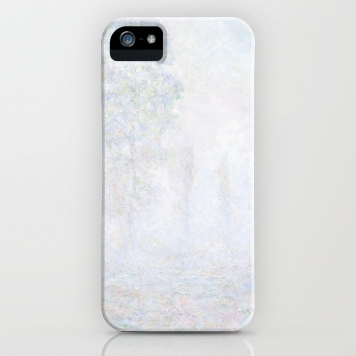 Morning Haze By Claude Monet Iphone Case