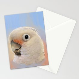 Goffin Tanimbar Corella Cockatoo Stationery Cards