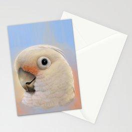 Goffin Tanimbar Corella Cockatoo Stationery Cards