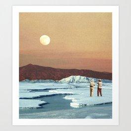 Environmental Differences Art Print