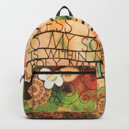 Psalm 103:1 Backpack