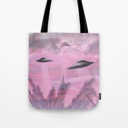 Alien Age Tote Bag