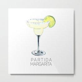 Partida Margarita Metal Print