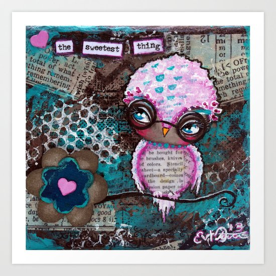 The Sweetest Thing Art Print