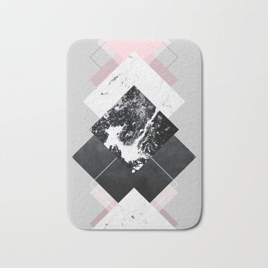Geometric Textures 7 Bath Mat