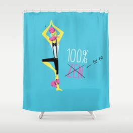 100% Zen Shower Curtain