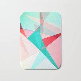 FRACTION - Abstract Graphic Iphone Case Bath Mat