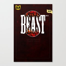 Beast front cover Canvas Print