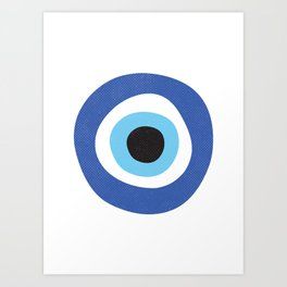 Evi Eye Symbol Art Print