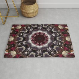 Beauty And The Beet -- A Kaleidoscope Of Beets Rug