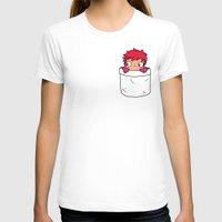 ponyo T-shirts featuring Ponyo in a pocket by Samtronika