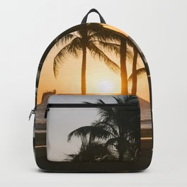 Fort Lauderdale at sunrise Backpack