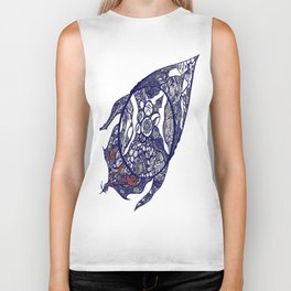 Abstract 2 by Greg Phillips Biker Tank