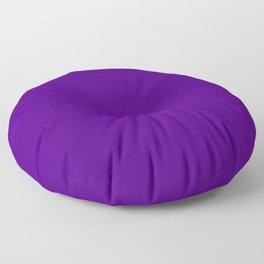 Solid Bright Purple Indigo Color Floor Pillow