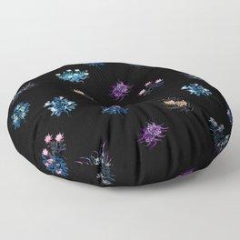 Fantasy flowers Floor Pillow