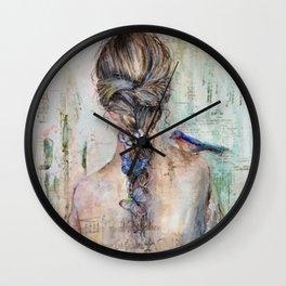 Medley of Wings Wall Clock